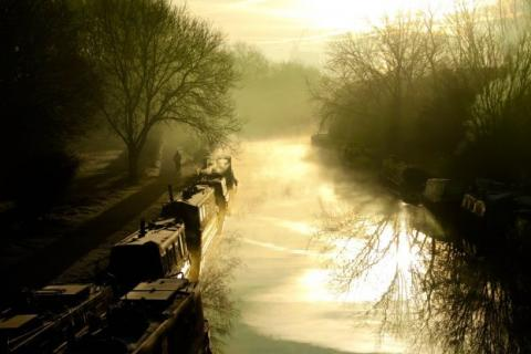 Canal photo by Mike Wells