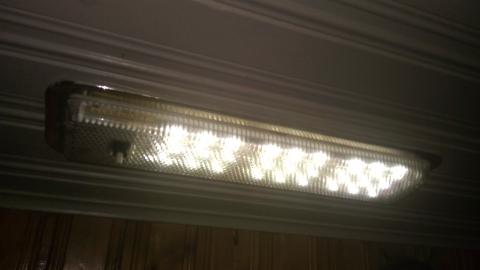 Photo of an LED-converted light